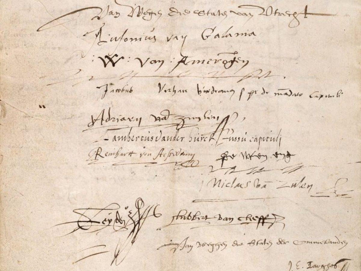 Unie Van Utrecht 1579